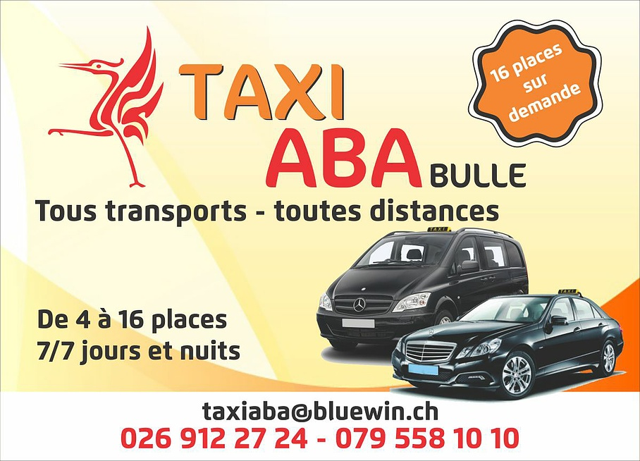 Transport - ABA Taxi - Bulle